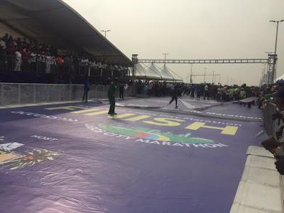 Photos: Abraham Kiptom of Kenya Wins Lagos Marathon 2016 #LagosMarathon