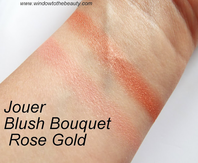 Jouer Blush Bouquet dual swatches and opinion