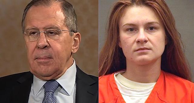 El ministro ruso Lavrov denuncia torturas de EE.UU. a María Bútina