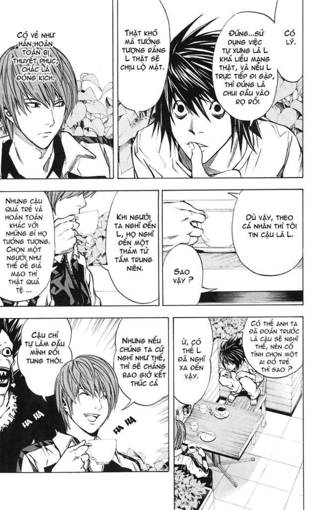 Death Note chapter 021 trang 12