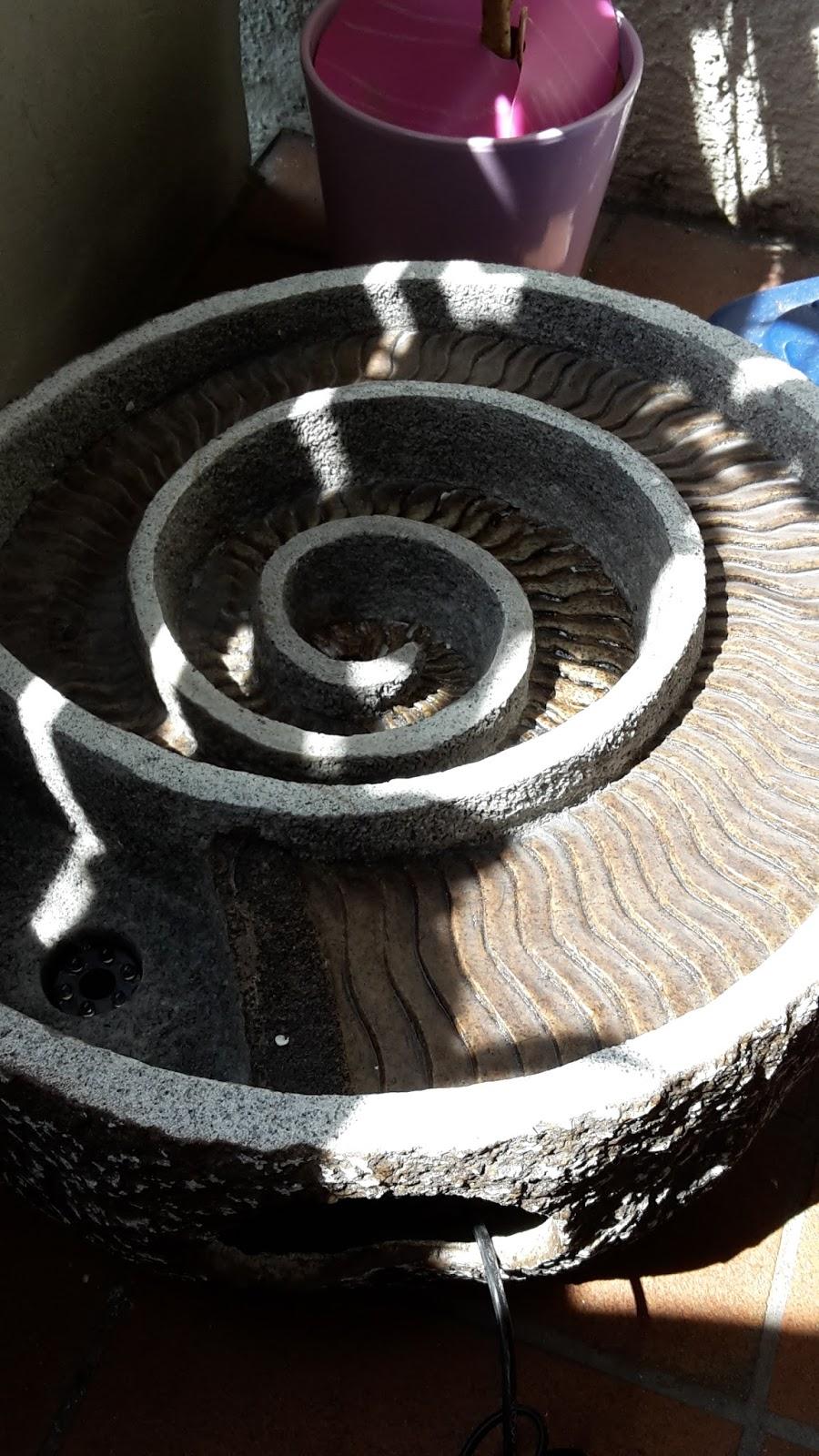 lahr2006 testet blumfeldt spiro gartenbrunnen zierbrunnen. Black Bedroom Furniture Sets. Home Design Ideas