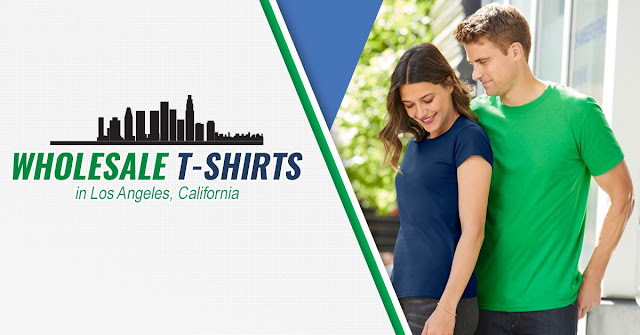Top 5 T-shirt wholesaler in Los Angeles