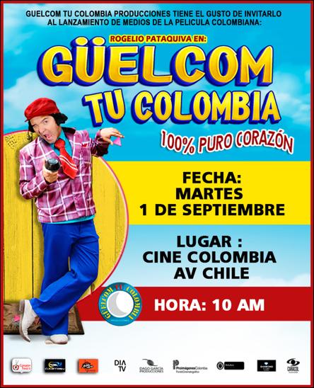 Güelcom tu Colombia (2015)
