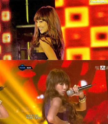 Fans Peep Bra Hyorin Sistar19 As Shown Hyorin Scandal