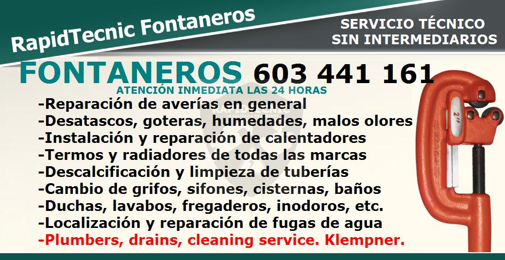 Rapidtecnic Alicante Fontaneros Urb Los Frutales Torrevieja 603