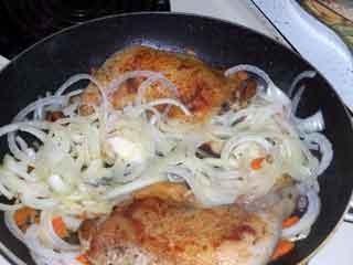 Chicken cacciatore veggied