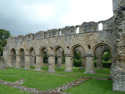 picnic at Buildwas Abbey English Heritage