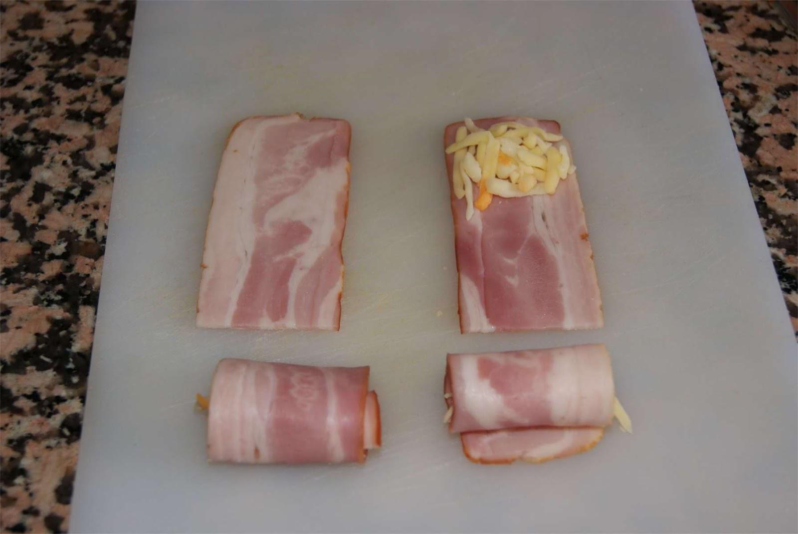 croquetas de hamburguesa con queso y bacon paso 1