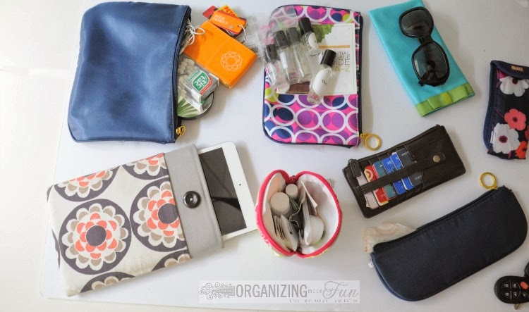 11 Ways to organize your purse