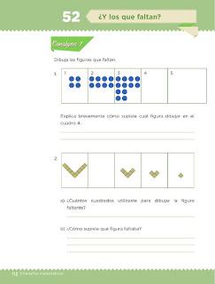 Apoyo Primaria Desafíos matemáticos 3ro. Grado Bloque IV Lección 52 ¿Y los que faltan?