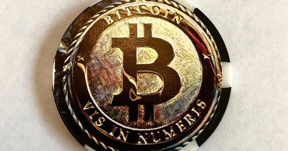 Bitcoin Novely Coin Crypto Currency Physical Custom