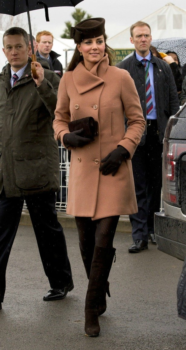 Kate Middleton, looks de inverno