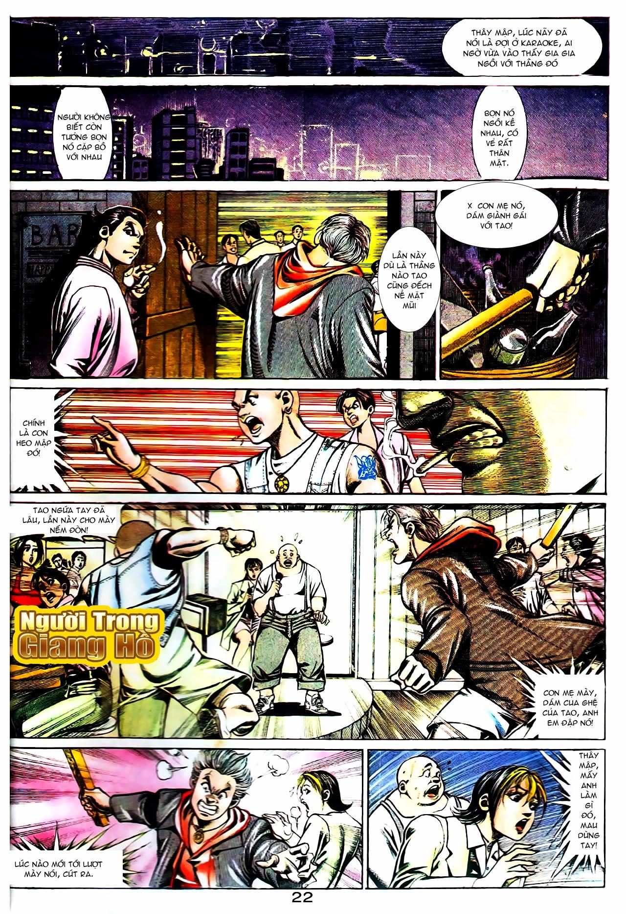 Người Trong Giang Hồ chapter 104: tuổi trẻ máu lửa trang 2