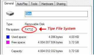 Cara Merubah Format Flashdisk Menjadi NTFS