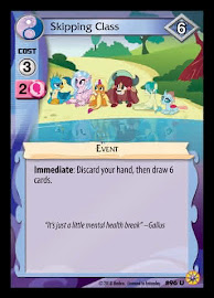 My Little Pony Skipping Class Friends Forever CCG Card