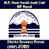 DRP District Resource Person 13 Vacancies HP -Appy Before 31st Mar,2017