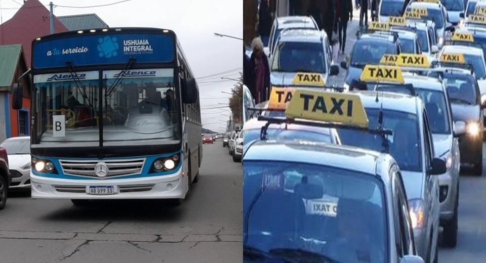 Rigen el aumento en taxis y colectivos