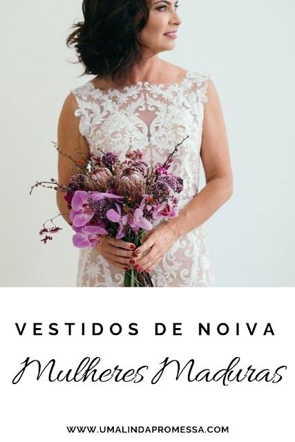 Vestidos de noivas para mulheres mais de 40