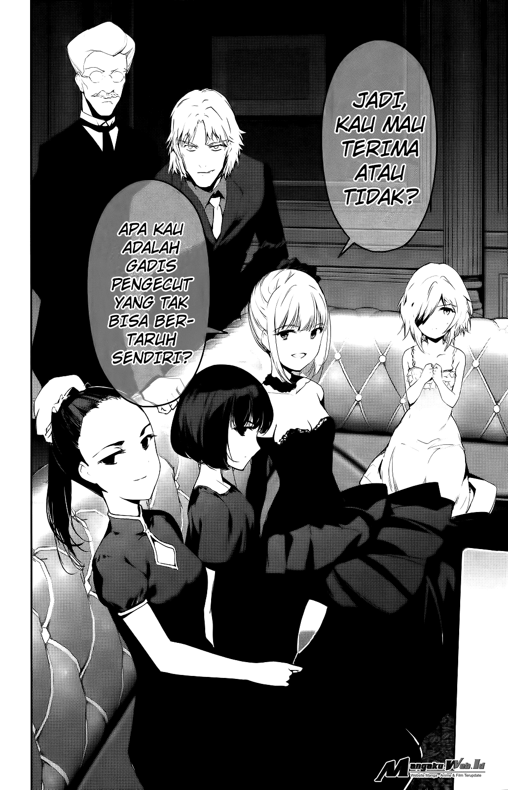 Darwin's Game Chapter 38-44