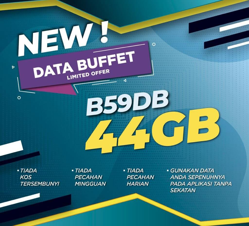 ONEXOX Black B59DB Data Buffet