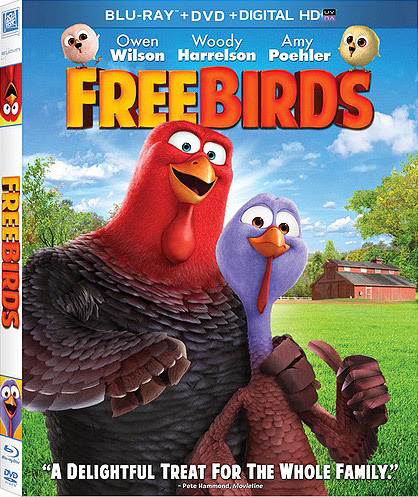 Free Birds 2013 720p BluRay 750mb Audio 5.1