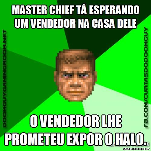 Master Chief e o vendedor de Halo