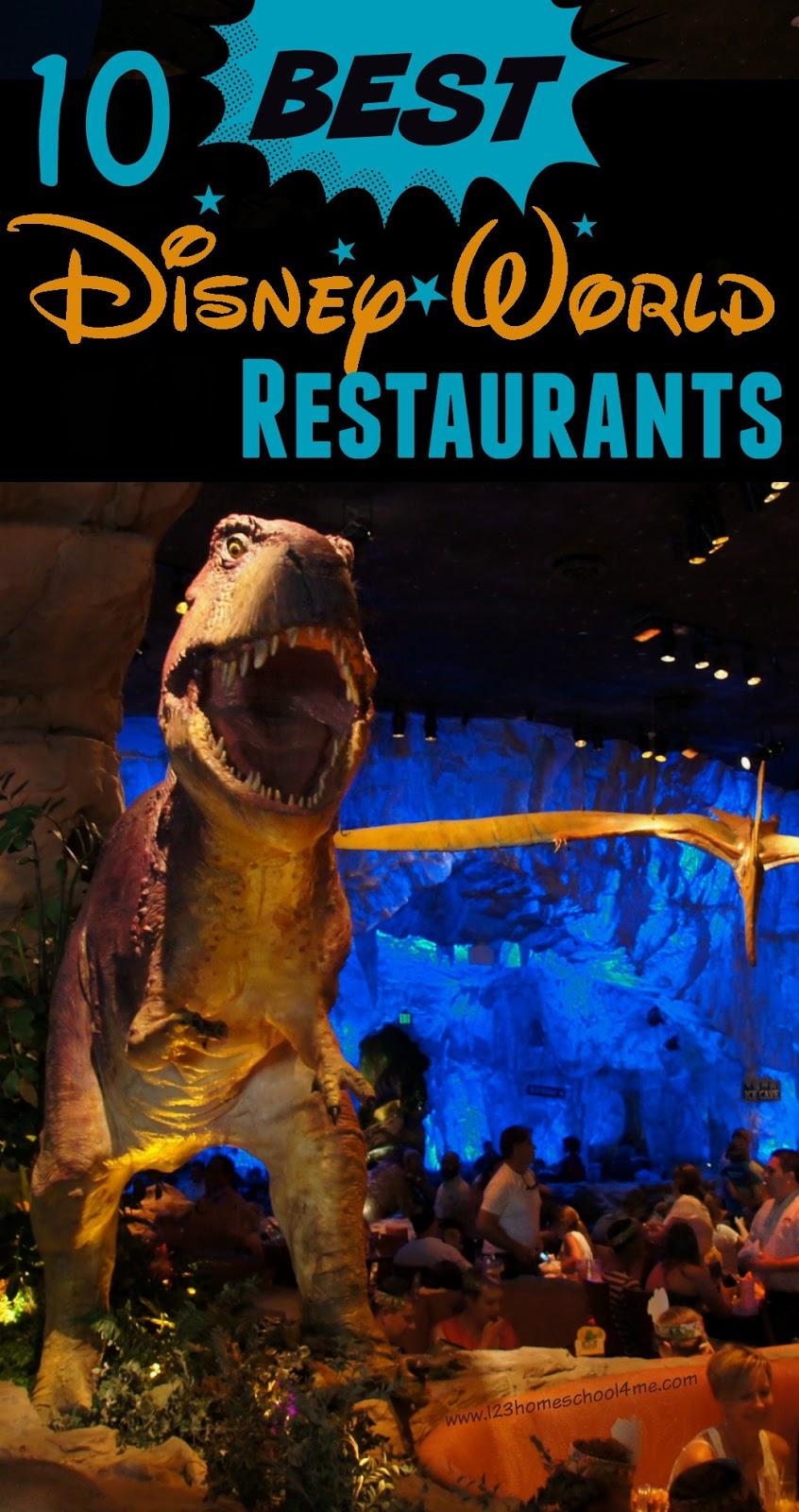 BEST Disney World Restaurants - Walt disney world table service restaurants