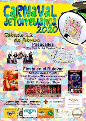 Sevilla (Torreblanca) - Carnaval 2020