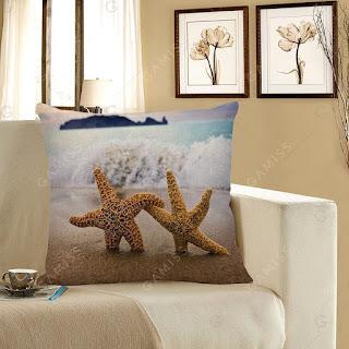 Almofada para Sala Estrelas do Mar