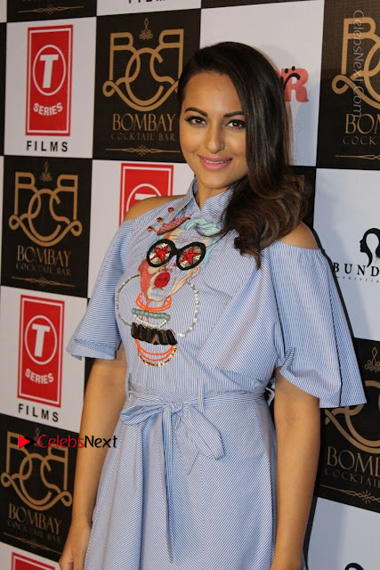 Actress Sonakshi Sinha at the Song Launch of Film Noor  0001.JPG