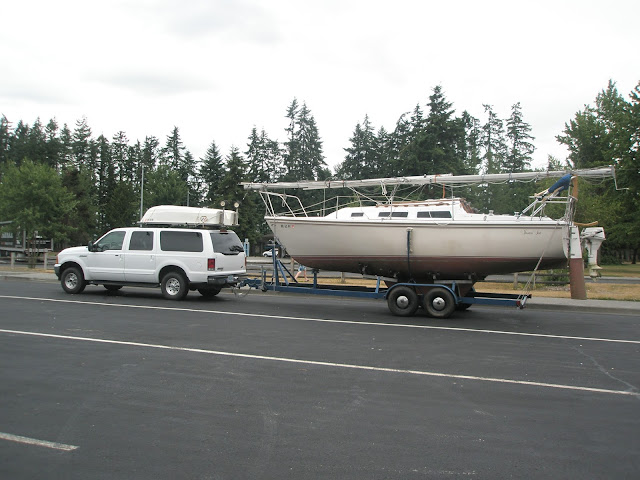 Boating and highway cruising vacation
