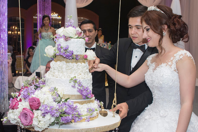 Azamat & Madina Wedding Cake Hilton Ballroom
