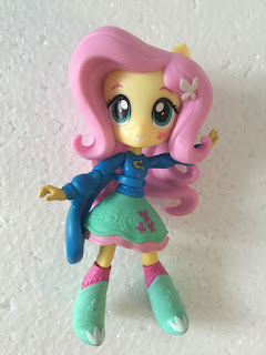 MLP Pep Rally Fluttershy Equestria Girls Minis Figure