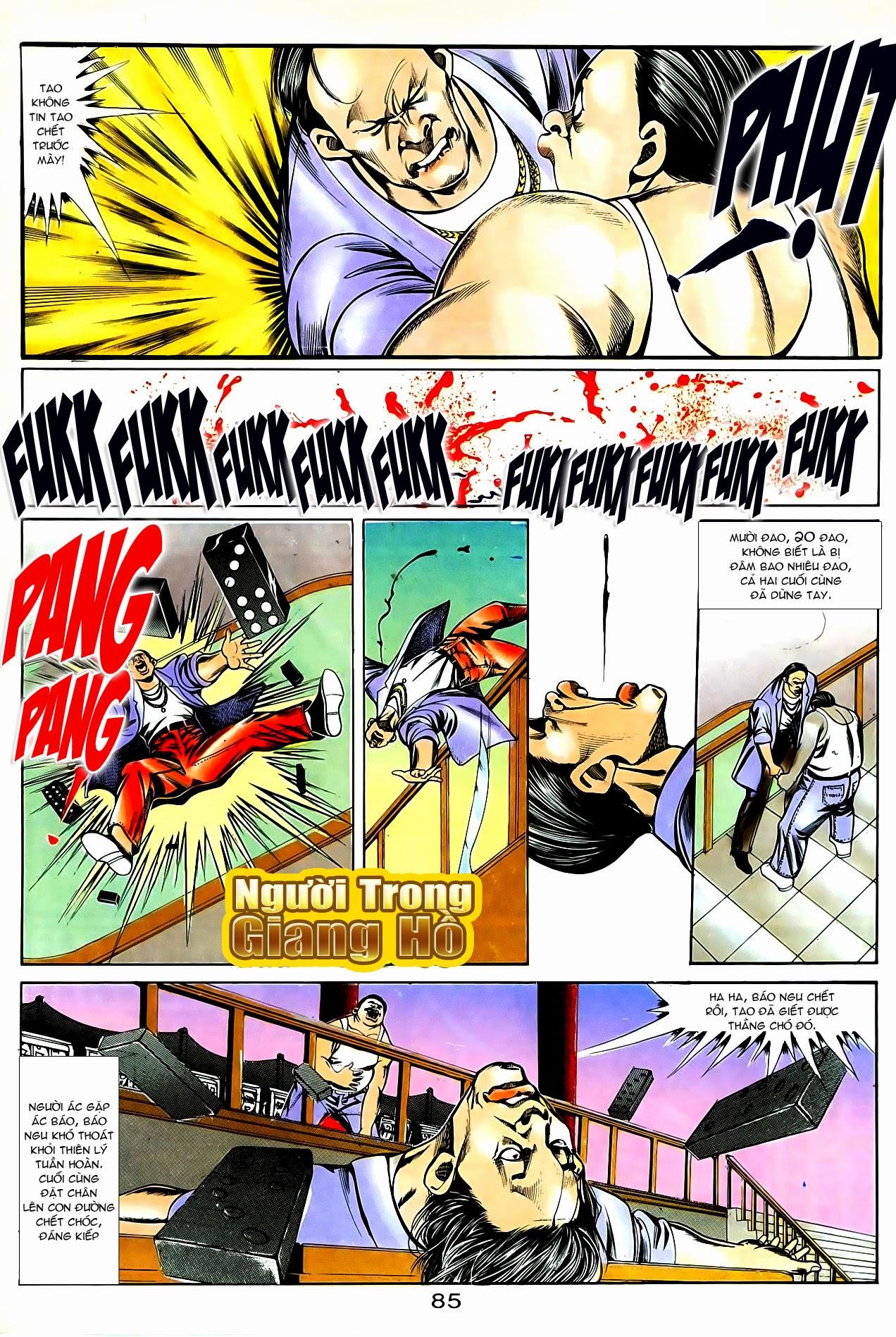 Người Trong Giang Hồ chapter 86: săn báo trang 28