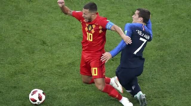Gol Tunggal Umtiti Buat Prancis Melaju ke Final