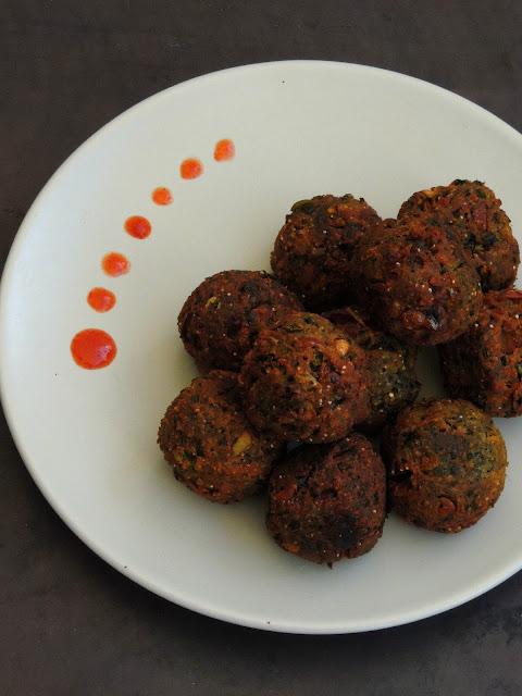 Mushroom Kola Urundai, Mushroom Balls