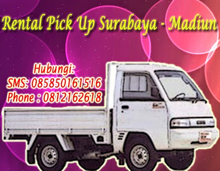 Rental Pick Up Zebra Surabaya-Madiun