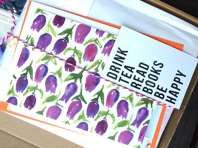 Abonnement box littéraire septembre 2016