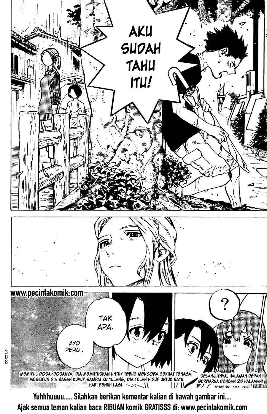 Koe no Katachi Chapter 13-21
