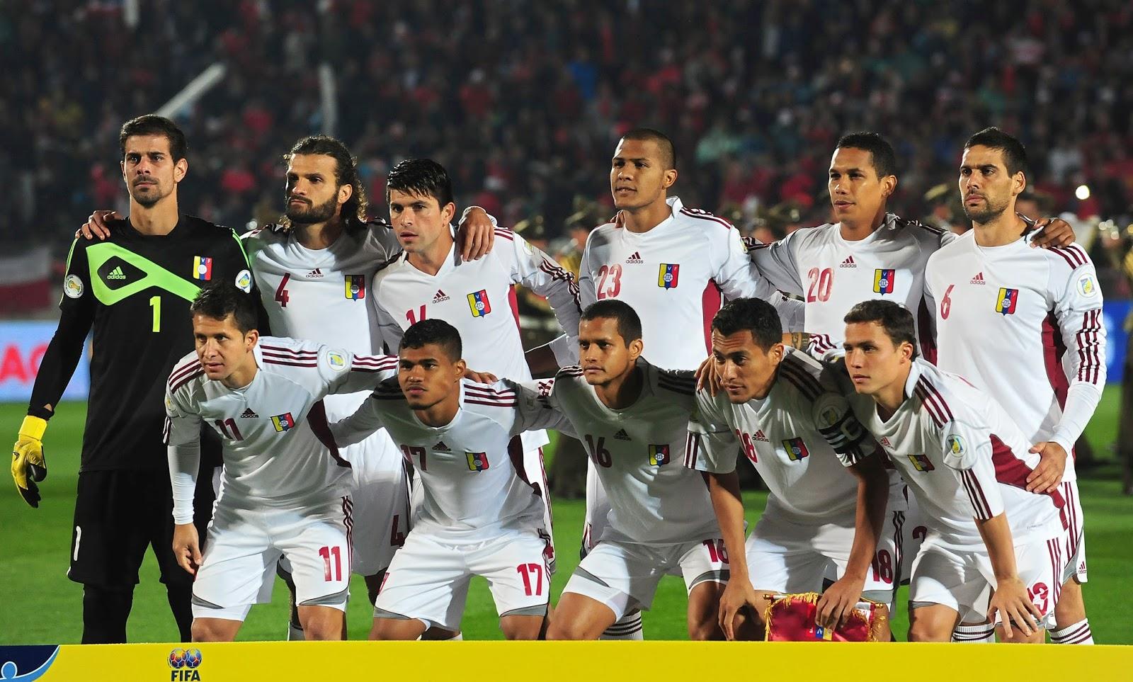 Formación de Venezuela ante Chile, Clasificatorias Brasil 2014, 6 de septiembre de 2013
