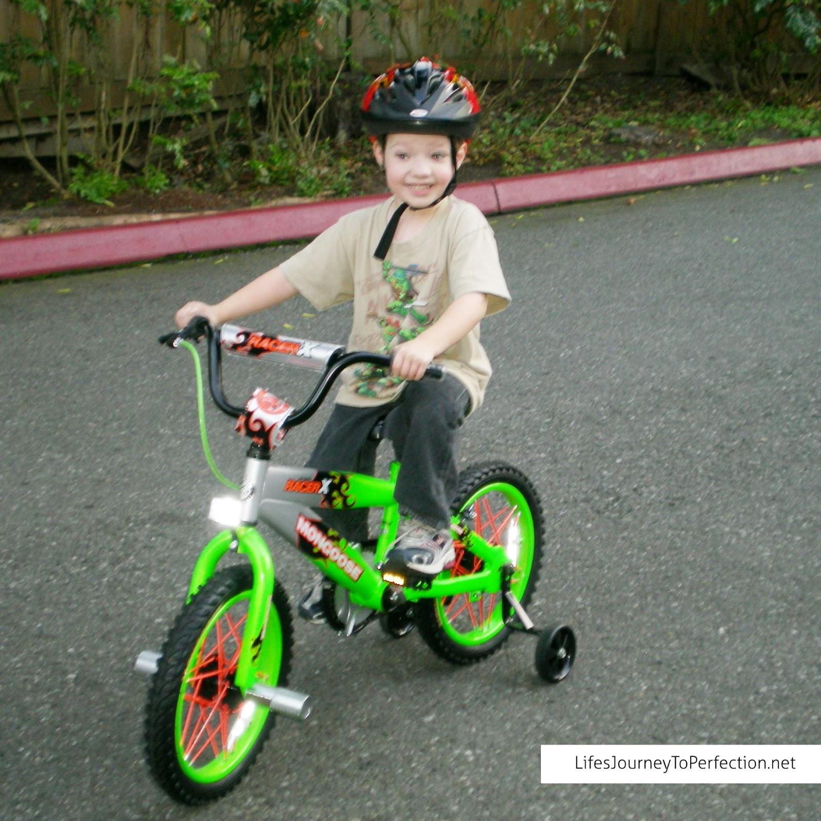 Kids Bike Saftey Instruction Book