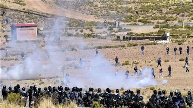 Bolivian Interior Minister Rodolfo Illanes beaten to death by striking mine workers