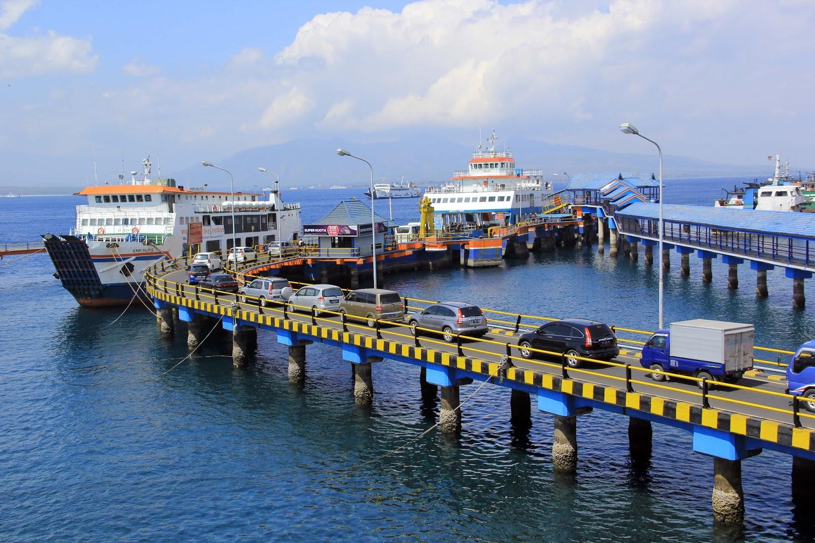 jakarta ke bali: pelabuhan ketapang