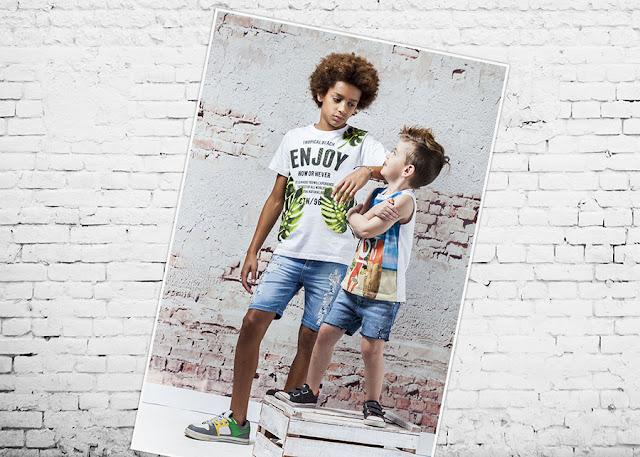 Moda primavera verano 2018 Infantil. Ropa para niños y niñas.