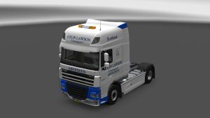 Colin Lawson Skin for DAF XF