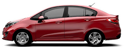 The All new 2016 Proton Persona side look