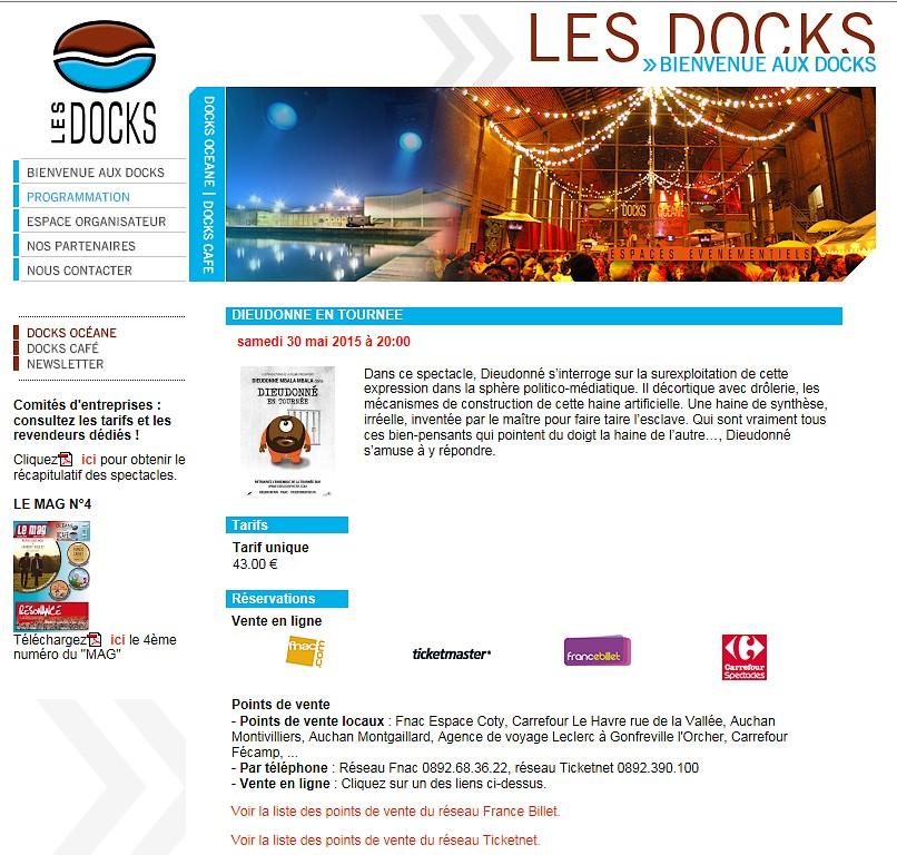 Pour Son Seul Spectacle En Norman Udonné S Est Produit Le 30 Mai 2017 Aux Docks Océane Au Havre Seine Maritime La Cgt Confédération Générale Du