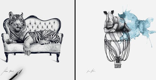 00-Surreal-Animals-Mostly-Ink-Drawings-www-designstack-co