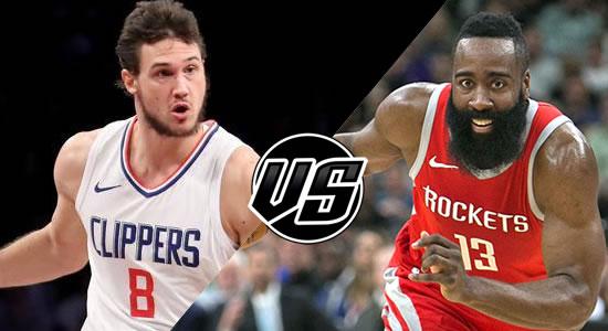 Live Streaming List: LA Clippers vs Houston Rockets 2018-2019 NBA Season