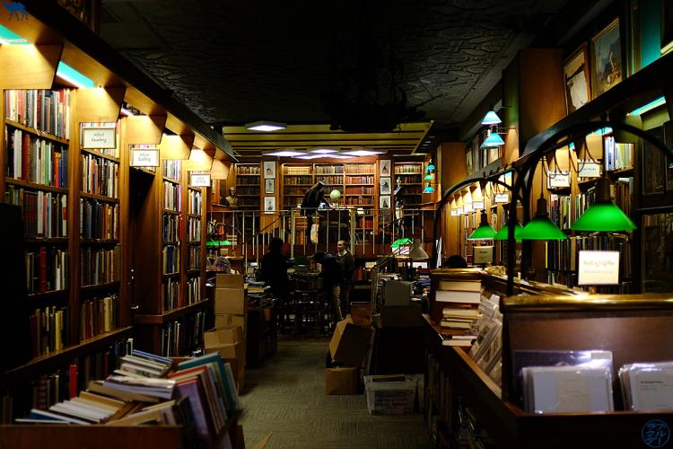 Le Chameau Bleu - Librairie Argsy à New York - Séjour à BigApple - Le Chameau Bleu